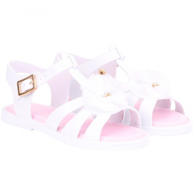 andália Infantil WorldColors Alice Kids - Branco
