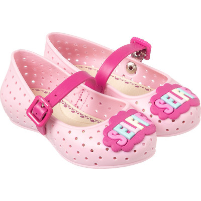 Sapatilha Infantil WorldColors Gloss - Rosa BB