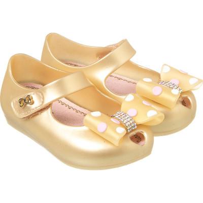 Sapatilha Infantil WorldColors Confeti Baby - Dourado Perolado