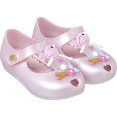Sapatilha Infantil WorldColors Confeti Baby - Rosa Perolado
