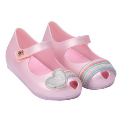 Sapatilha Infantil WorldColors Confeti Kids - Rosa Perolado