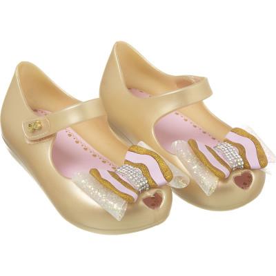 Sapatilha Infantil WorldColors Confeti Kids - Dourado Perolado