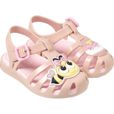 Sandália Infantil WorldColors Lilly Baby - Nude