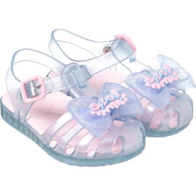 Sandália Infantil WorldColors Lilly Baby - Azul Frozen