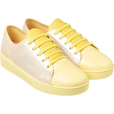 Tênis Infantil WorldColors Lady Teens - Amarelo
