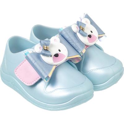 Tênis Infantil WorldColors Jelly - Azul Perolado