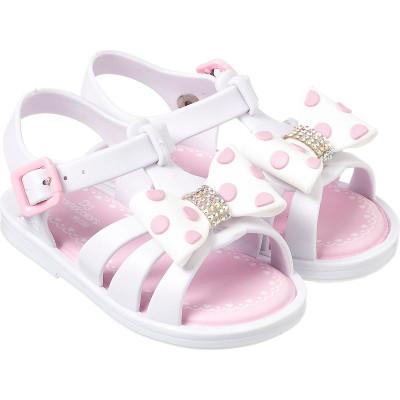 Sandália Infantil WorldColors Alice Baby - Branco