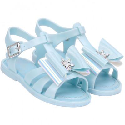 Sandália Infantil WorldColors Alice Kids - Azul Perolado