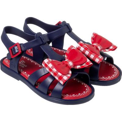 Sandália Infantil WorldColors Alice Kids - Azul Marinho