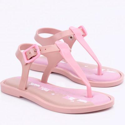 Sandália Infantil WorldColors Raio de Sol Kids - Nude/rosa