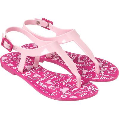 Sandália Infantil WorldColors Cake Teens - Pink/Rosa BB