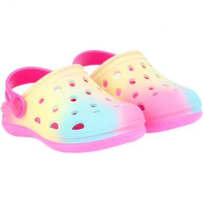 Babuche Infantil WorldColors Pop Baby - Pink/Tie Dye