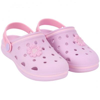 Babuche Infantil WorldColors Pop Baby - Lilas/rosa Bb
