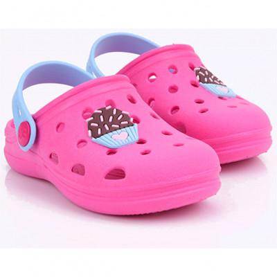 Babuche Infantil WorldColors Pop Baby - Pink/azul Ceu