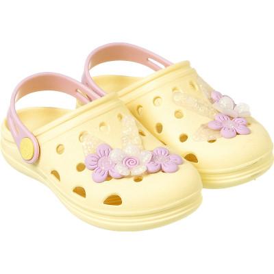 Babuche Infantil WorldColors Pop Baby - Amarelo BB/Rosa BB