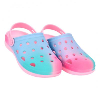 Babuche Infantil WorldColors Pop Kids - Rosa/Tie Dye