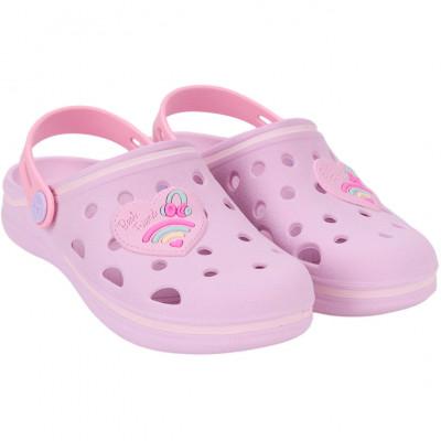 Babuche Infantil WorldColors Pop Kids - Lilas/Rosa BB