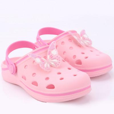 Babuche Infantil WorldColors Pop Kids - Rosa/Rosa Candy