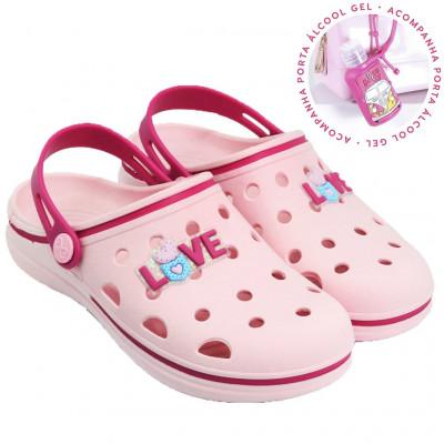 Babuche Infantil WorldColors Pop Kids - Rosa BB/Pink