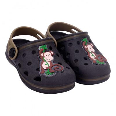 Babuche Infantil Wboys Pop Baby - Preto/Verde