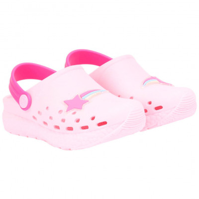 Babuche Infantil WorldColors Pop Sport Baby - Rosa BB/Pink