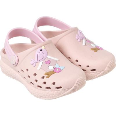 Babuche Infantil WorldColors Pop Sport Baby - Nude/Rosa BB