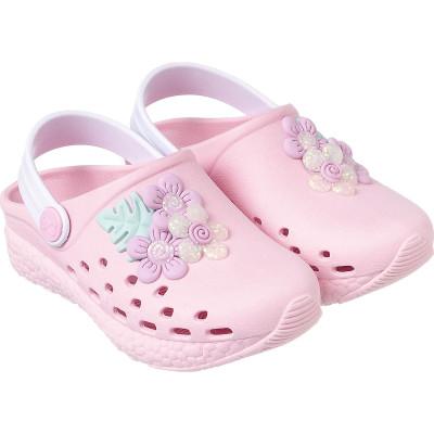 Babuche Infantil WorldColors Pop Sport Baby - Rosa BB/Branco