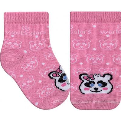 Meia Infantil WorldColors Colors Baby - Rosa BB