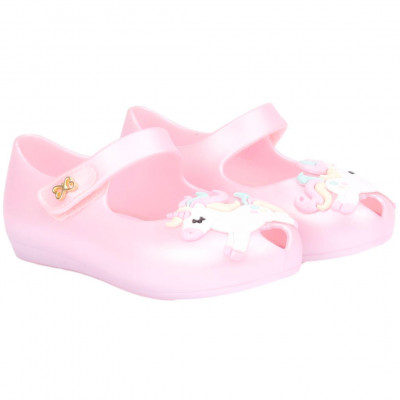 Sapatilha Infantil WorldColors Angel Baby - Rosa Perolado