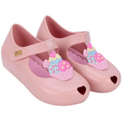 Sapatilha Infantil WorldColors Angel Baby - Nude/Rosa