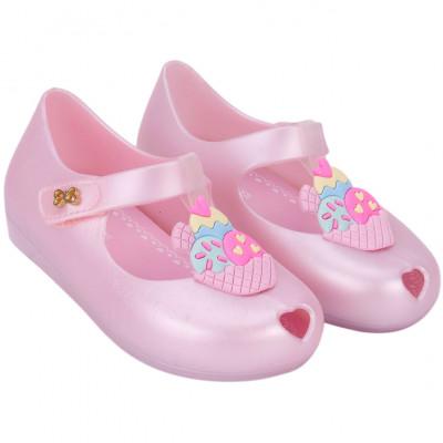 Sapatilha Infantil WorldColors Angel Baby - Rosa Perolado/Rosa