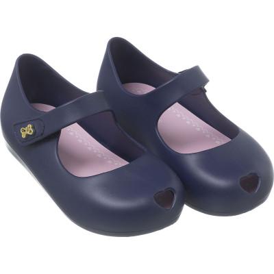 Sapatilha Infantil WorldColors Angel Baby - Azul Marinho