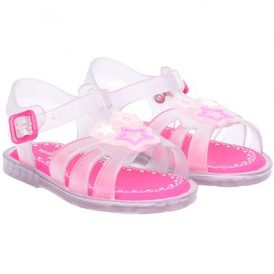 Sandália Infantil WorldColors Alice Baby - Transparente