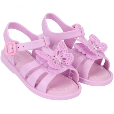 Sandália Infantil WorldColors Alice Baby - Lilás/Rosa BB