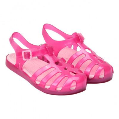 Sandália Infantil WorldColors Bela Kids - Pink Translucido