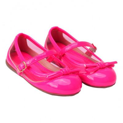 Sapatilha Infantil WorldColors Tuty Baby - Pink/Transparente