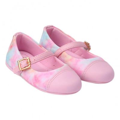 Sapatilha Infantil WorldColors Tuty Baby - Rosa/Tie Dye