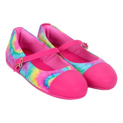 Sapatilha Infantil WorldColors Tuty Baby - Pink/Tie Dye