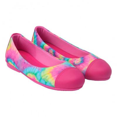 Sapatilha Infantil WorldColors Fleur Teens - Pink/Tie Dye