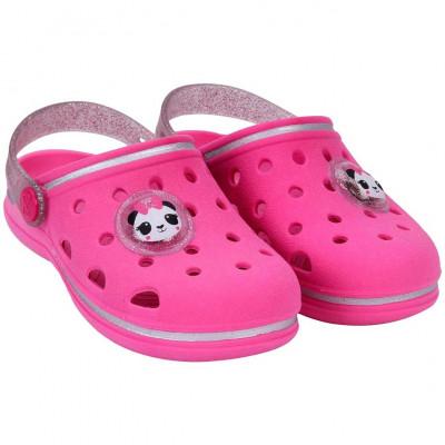 Babuche Infantil WorldColors Pop Baby com LED - Pink