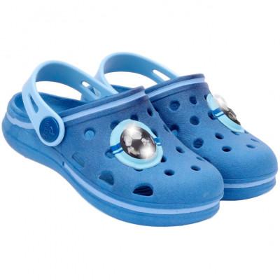 Babuche Infantil Wboys Pop Baby Com LED - Royal/Azul Céu