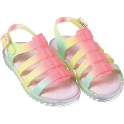 Sandália Infantil WorldColors Estrela Kids - Tie Dye com LED