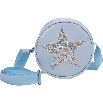 Bolsa Infantil WorldColors Amora - Azul Ceu/Gliter Prata