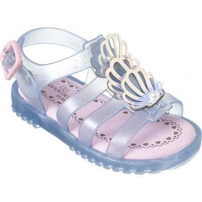 Sandália Infantil WorldColors Drops Baby - Azul Frozen