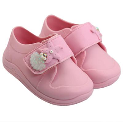 Tênis Infantil WorldColors Jelly Baby - Rosa BB