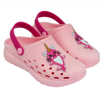 Babuche Infantil WorldColors Pop Sport Kids - Rosa Bb/Pink