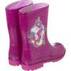 Galocha Infantil WorldColors Mia Kids - Gliter Pink/Pink
