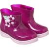 Galocha Infantil WorldColors Mia Baby - Gliter Pink/Rosa BB