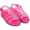 Sandália Infantil WorldColors Lilly Baby - Pink/Transparente