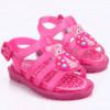 Sandália Infantil WorldColors Drops Baby - Pink Translucido/Pink